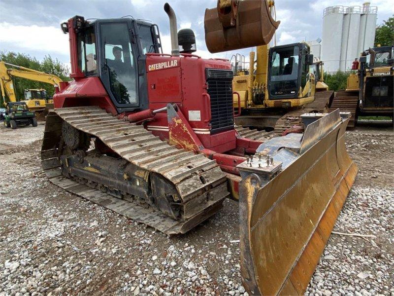 Bulldozer des Typs Caterpillar D6N LGP PAT 6Wege Klapp-Schild TOP Zustand, Gebrauchtmaschine in Schrobenhausen (Bild 10)