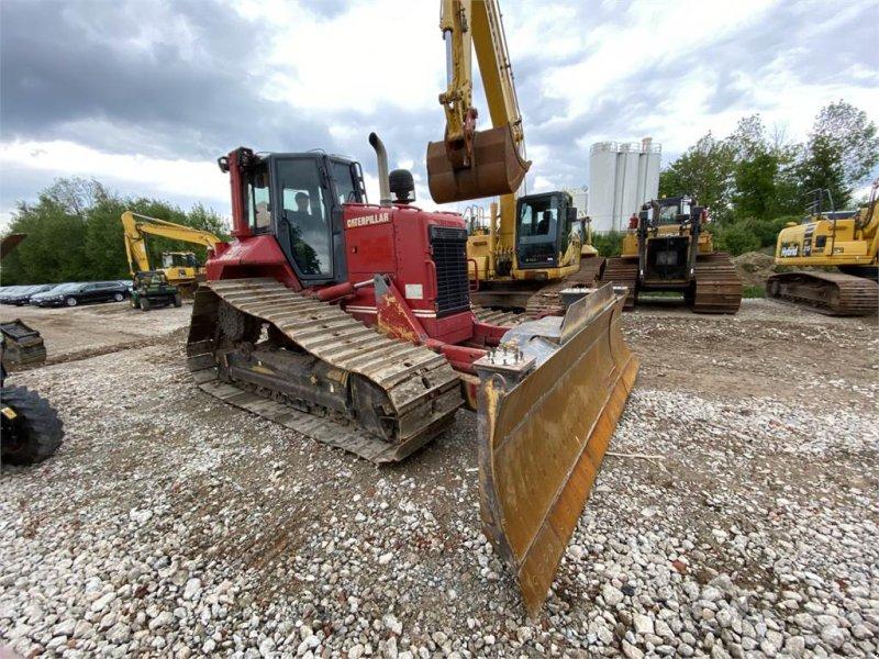 Bulldozer des Typs Caterpillar D6N LGP PAT 6Wege Klapp-Schild TOP Zustand, Gebrauchtmaschine in Schrobenhausen (Bild 9)