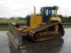 Bulldozer des Typs Caterpillar D6N in Dormagen