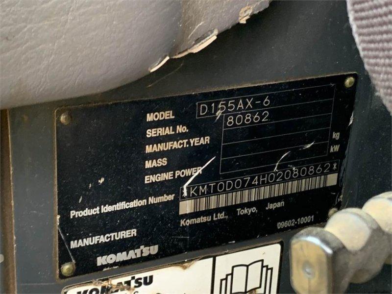 Bulldozer des Typs Komatsu D155AX-6  Mit Ripper, TOP Zustand 5660BH!!, Gebrauchtmaschine in Schrobenhausen (Bild 12)