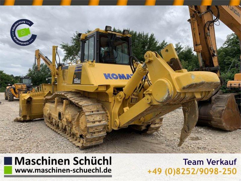 Bulldozer des Typs Komatsu D155AX-6  Mit Ripper, TOP Zustand 5660BH!!, Gebrauchtmaschine in Schrobenhausen (Bild 1)