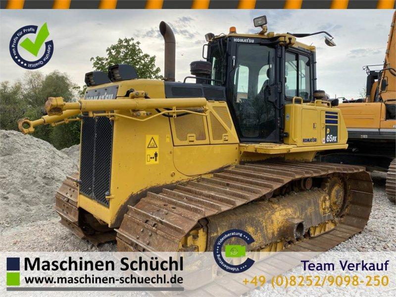 Bulldozer des Typs Komatsu D65 PX-18 TOP Condition, Worldwide shipping, Gebrauchtmaschine in Schrobenhausen (Bild 1)