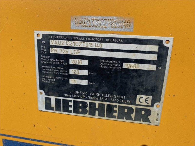 Bulldozer des Typs Liebherr PR 726 Ketten-Dozer, Raupe, Gebrauchtmaschine in Schrobenhausen (Bild 10)