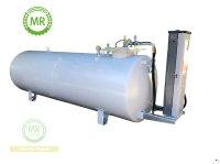 5.000 Liter Dieseltank doppelwandig aus Stahl ohne Pumpe Dieseltank