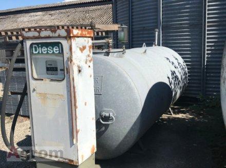 Rietberg Dieseltankstelle 3450 Ltr mit Zapfsäule Dieseltank