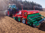 Direktsaatmaschine του τύπου Agro-Masz SR300 σε Луцьк