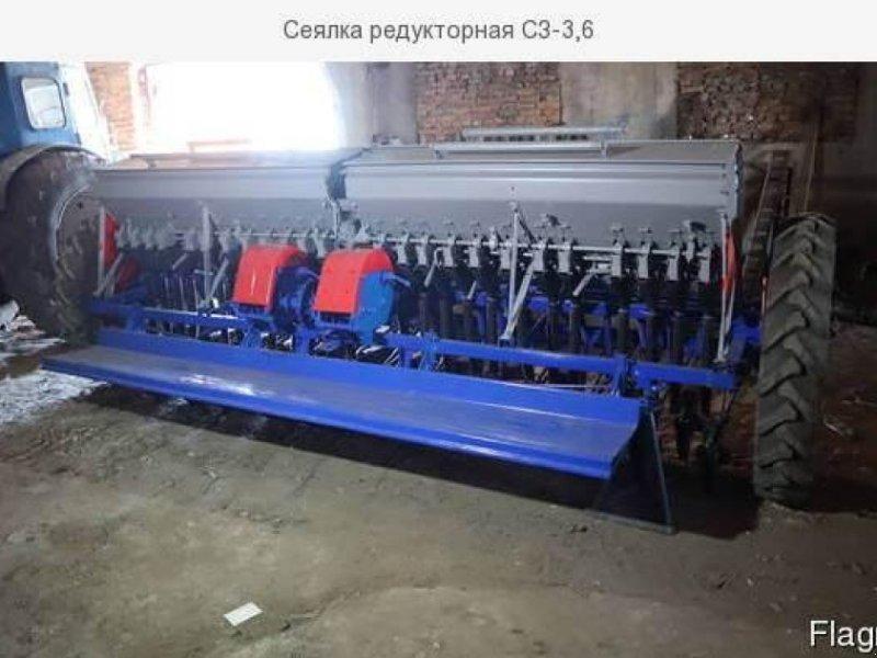 Direktsaatmaschine типа CHERVONA ZIRKA СЗ-3.6, Gebrauchtmaschine в Херсон (Фотография 1)