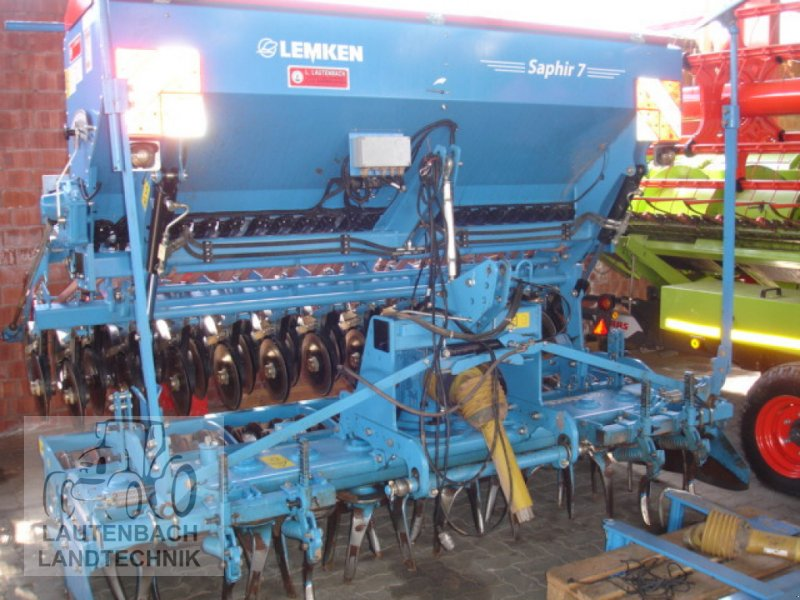 Drillmaschine des Typs Lemken Zirkon 10/300 + Saphir 7/300, Gebrauchtmaschine in Rollshausen (Bild 1)