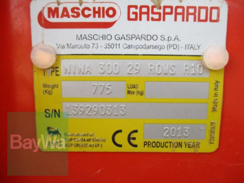 Drillmaschine des Typs Maschio NINA 300  #701, Gebrauchtmaschine in Schönau b.Tuntenhausen (Bild 9)