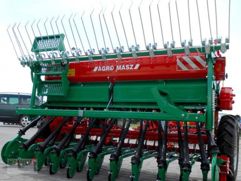 Drillmaschinenkombination typu Agro-Masz Drillmaschine/ Seed drill/ Siewnik rzędowy SR-250 / Siewnik rzędowy SR-250 / Sembradora en línea SR-250, Neumaschine w Jedwabne (Zdjęcie 1)