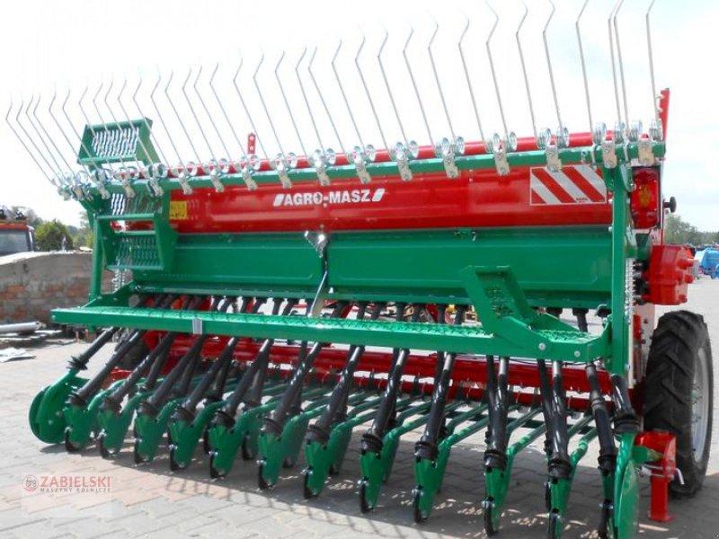 Drillmaschinenkombination typu Agro-Masz Drillmaschine/ Seed drill/ Siewnik rzędowy SR-300 / Sembradora en línea SR-300, Neumaschine w Jedwabne (Zdjęcie 1)