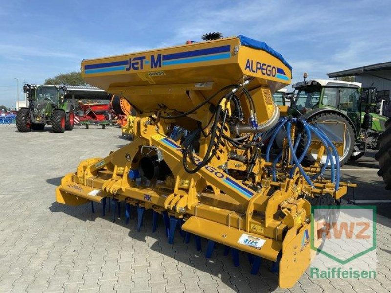 Drillmaschinenkombination des Typs Alpego Drillkombination Jet M und Rotodent, Ausstellungsmaschine in Mutterstadt (Bild 1)