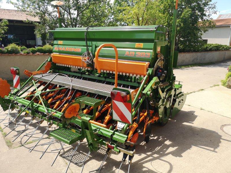 Drillmaschinenkombination des Typs Amazone AD 303 + KG 3000, Gebrauchtmaschine in Volkach (Bild 4)