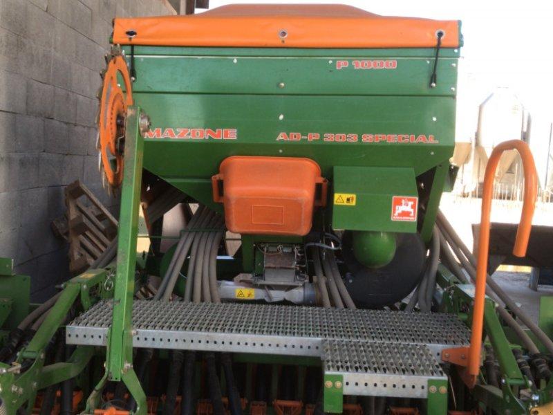 Drillmaschinenkombination des Typs Amazone AD 303 + KX 3000, Gebrauchtmaschine in Siebnach (Bild 1)