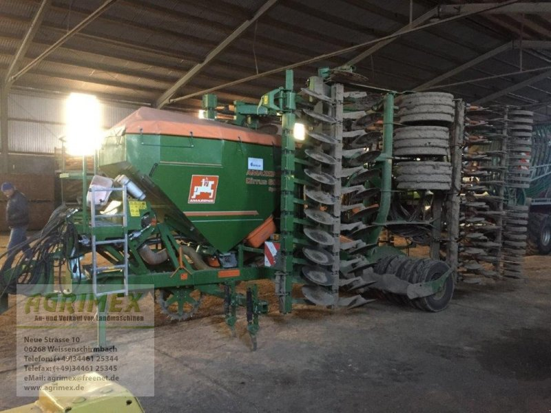 Drillmaschinenkombination типа Amazone Cirrus 6001, Gebrauchtmaschine в Weißenschirmbach (Фотография 1)