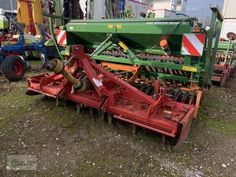 Drillmaschinenkombination des Typs Amazone Rau Cyclotiller und Amazone AD 3000, Gebrauchtmaschine in Rittersdorf (Bild 1)