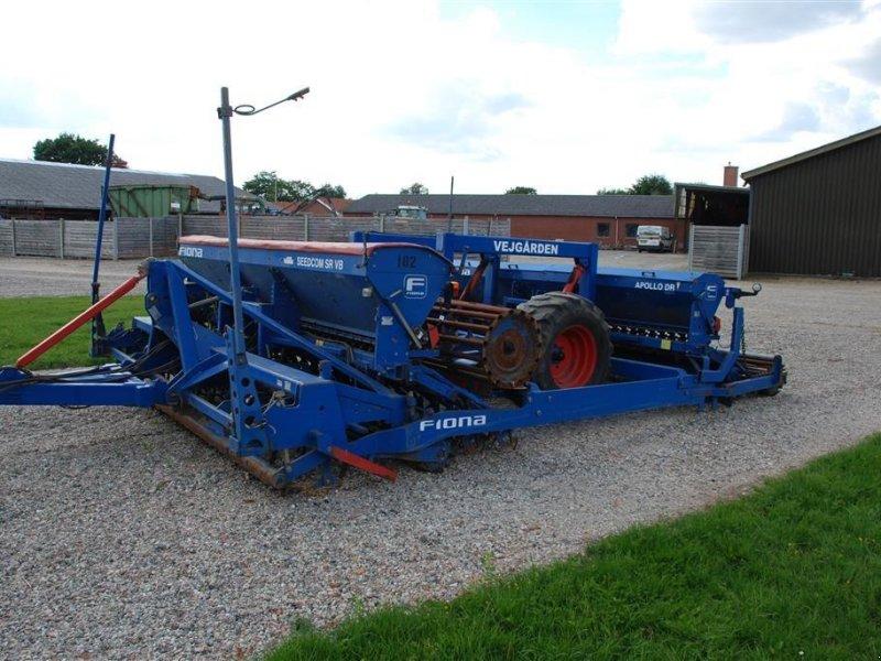 Drillmaschinenkombination des Typs Fiona 4m, Gebrauchtmaschine in Grindsted (Bild 1)