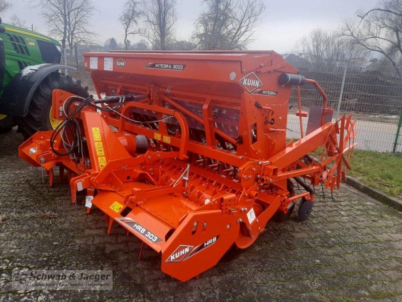 Drillmaschinenkombination des Typs Kuhn Combiliner Plus Integra 3003 + HRB303D, Neumaschine in Fünfstetten (Bild 1)