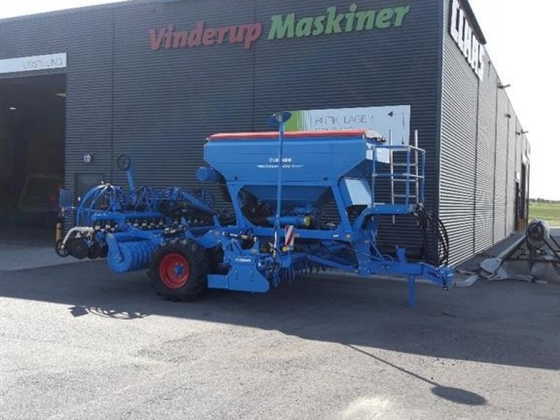 Drillmaschinenkombination a típus Lemken Compact-Solitair 9/400 Z12 Sammensåning korn/gødning., Gebrauchtmaschine ekkor: Vinderup (Kép 1)