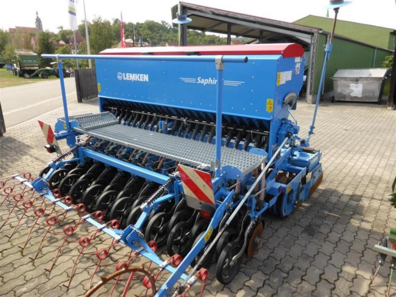 Drillmaschinenkombination des Typs Lemken SAPHIR 7/ZIRKON 10, Gebrauchtmaschine in Burgbernheim (Bild 1)