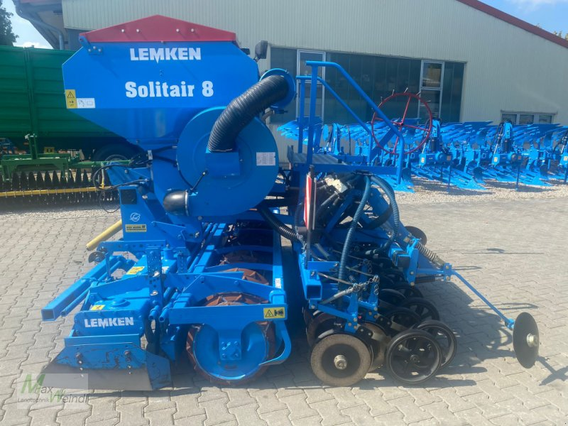 Drillmaschinenkombination des Typs Lemken Zirkon 7/300 + Solitair 8/300, Gebrauchtmaschine in Markt Schwaben (Bild 1)
