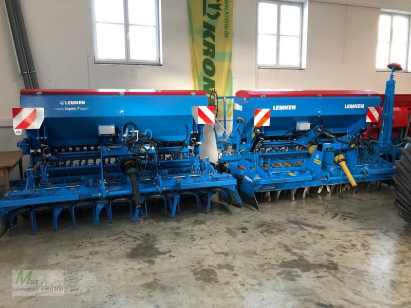 Drillmaschinenkombination des Typs Lemken Zirkon + Saphir 7, Gebrauchtmaschine in Markt Schwaben (Bild 1)