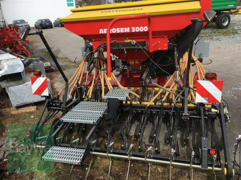 Drillmaschinenkombination du type Pöttinger AEROSEM 3000 + LION, Gebrauchtmaschine en Niederviehbach (Photo 1)