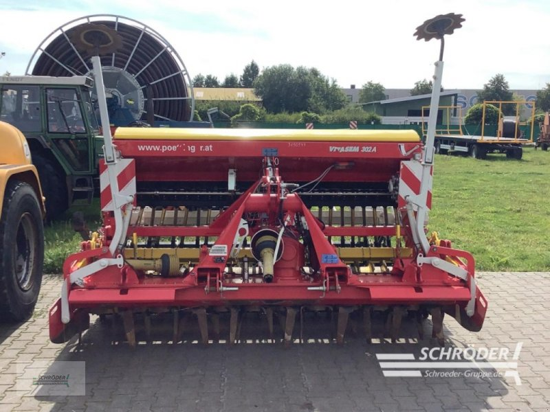 Drillmaschinenkombination des Typs Pöttinger LION 302.12 / VITASE, Gebrauchtmaschine in Schwarmstedt (Bild 1)