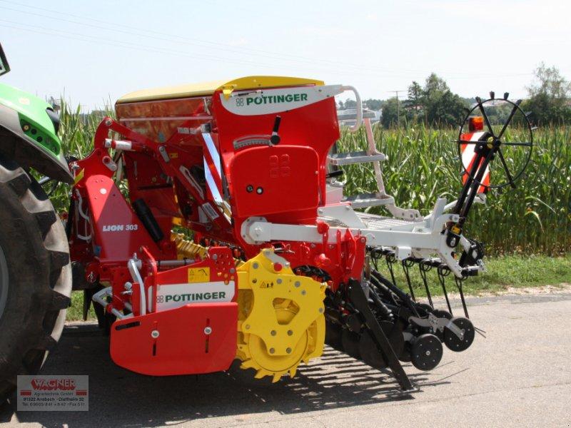 Drillmaschinenkombination des Typs Pöttinger Lion 303 + Vitasem302 A, Neumaschine in Ansbach (Bild 1)