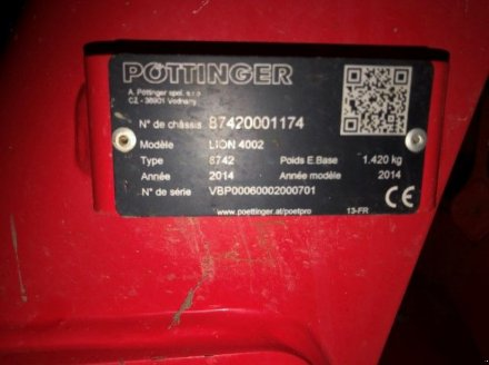 Drillmaschinenkombination a típus Pöttinger LION 4002+VITASEM 402 ADD, Gebrauchtmaschine ekkor: OREE D'ANJOU (Kép 5)