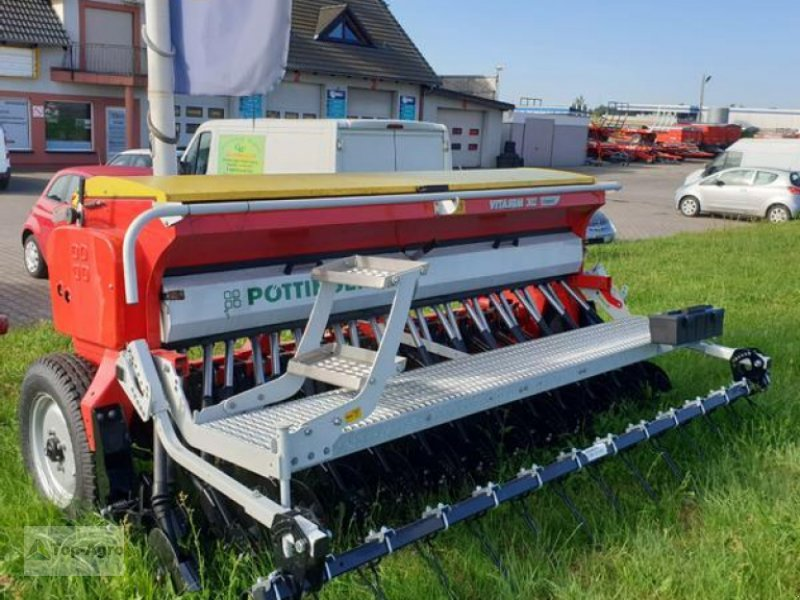 Drillmaschinenkombination des Typs Pöttinger TOP-AGRO Vitasem 302 Classic, Neumaschine in Zgorzelec (Bild 1)