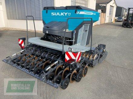 Sulky HR190 & Progress P100 mit Doppeltank Drillmaschinenkombination
