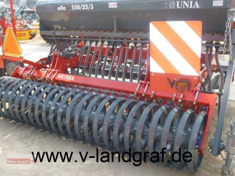 Drillmaschinenkombination des Typs Unia Alfa 550/25/3, Neumaschine in Ostheim/Rhön (Bild 1)