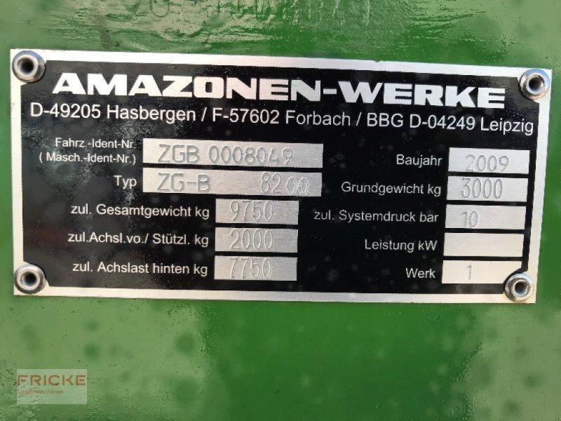 Düngerstreuer des Typs Amazone ZGB 8200, Gebrauchtmaschine in Demmin (Bild 2)
