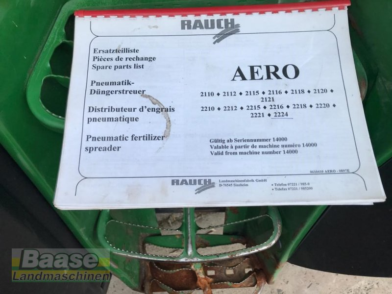Düngerstreuer des Typs Rauch AERO 2224, Gebrauchtmaschine in Holthof (Bild 13)