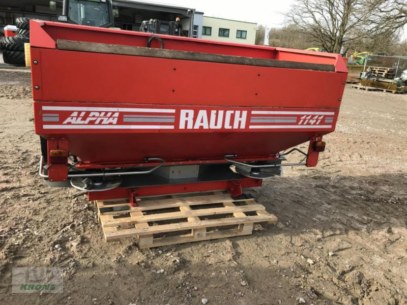 Düngerstreuer des Typs Rauch ALPHA 1141, Gebrauchtmaschine in Alt-Mölln (Bild 1)