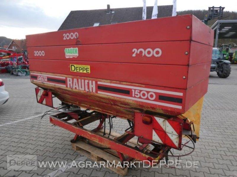Düngerstreuer des Typs Rauch Delta 1500, Gebrauchtmaschine in Bad Lauterberg-Barbis (Bild 1)