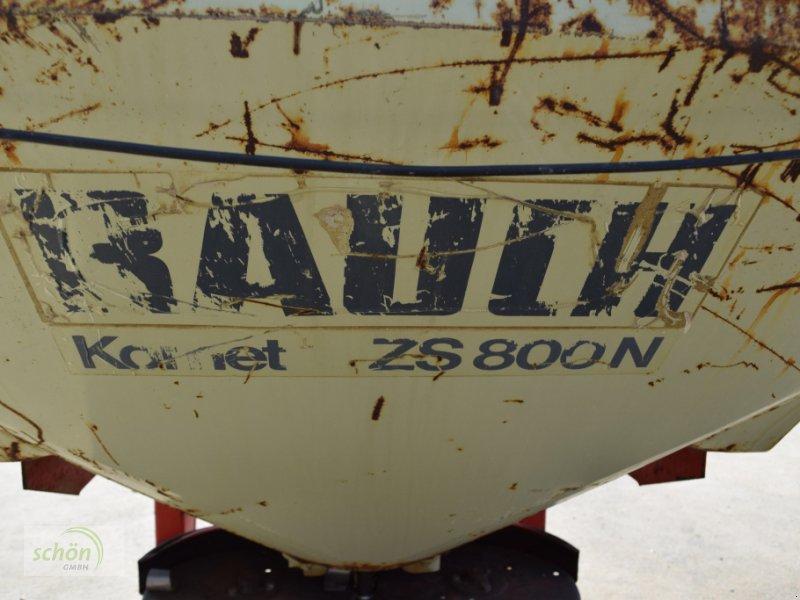 Düngerstreuer des Typs Rauch Komet ZS 800 N Zweischeibenstreuer mit hydraulischem Schieber und Abdeckung, Gebrauchtmaschine in Burgrieden (Bild 7)