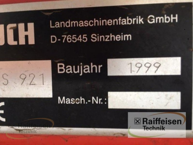 Düngerstreuer des Typs Rauch MDS 921, Gebrauchtmaschine in Hofgeismar (Bild 3)