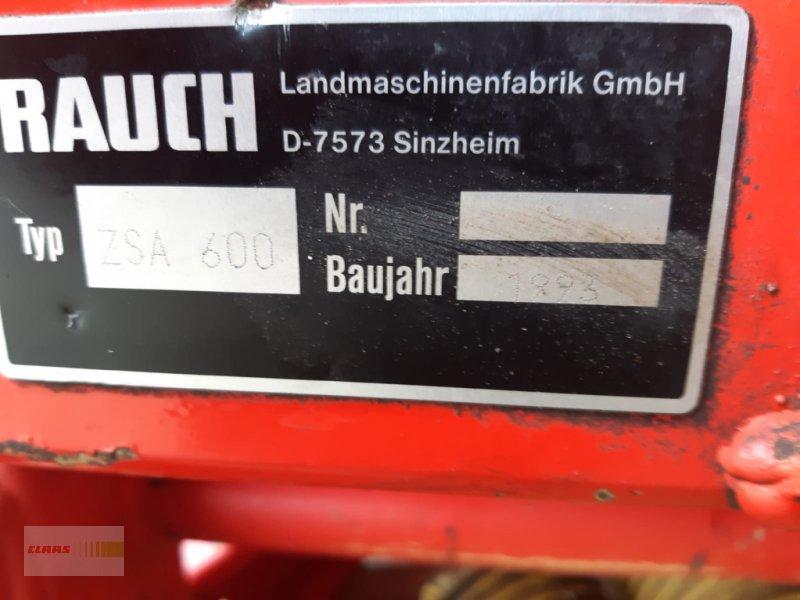 Düngerstreuer des Typs Rauch ZSA 600, Gebrauchtmaschine in Langenau (Bild 6)
