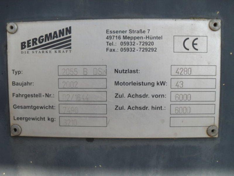 Dumper a típus Bergmann 2055 B DS, Gebrauchtmaschine ekkor: Obrigheim (Kép 8)