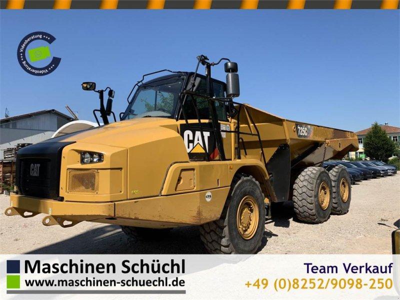 Dumper des Typs Caterpillar 725C2 Dumper 6x6 Neuwertiger Zustand!!, Gebrauchtmaschine in Schrobenhausen (Bild 1)