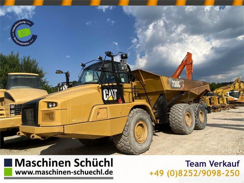 Dumper типа Caterpillar 730C Dumper Original 6x6 CE-Maschine 8217h Tailgat, Gebrauchtmaschine в Schrobenhausen (Фотография 1)