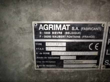 Dungstreuer des Typs Agrimat TANKER 11500, Gebrauchtmaschine in THEROUANNE (Bild 2)