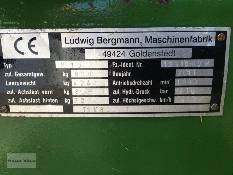 Dungstreuer des Typs Bergmann TSW800T, Gebrauchtmaschine in Eggenfelden (Bild 7)