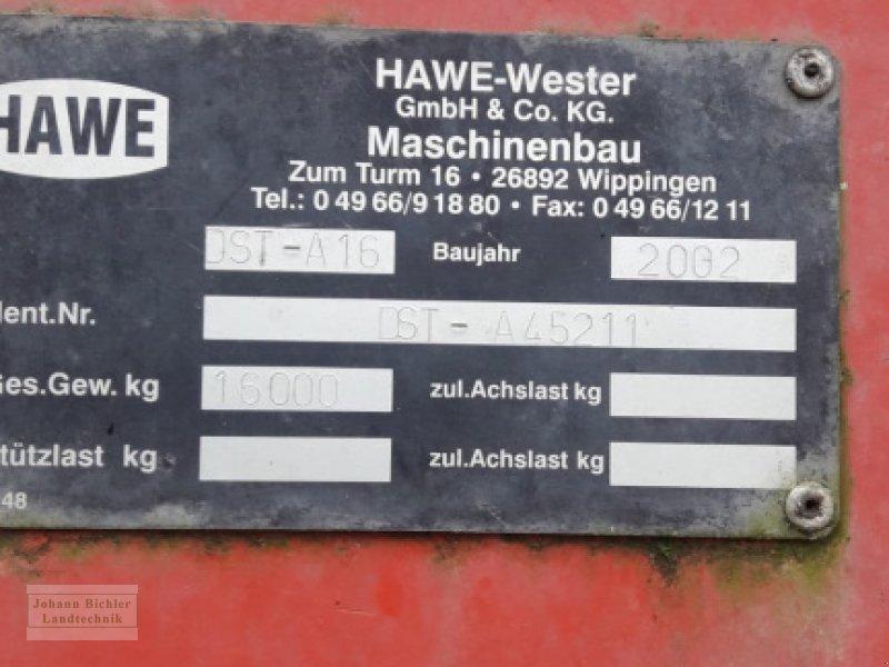 Dungstreuer des Typs Hawe DST A16, Gebrauchtmaschine in Unterneukirchen (Bild 2)