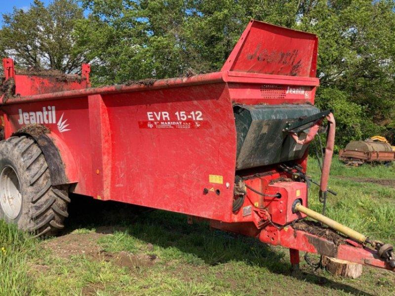 Dungstreuer des Typs Jeantil EVR 15-12, Gebrauchtmaschine in Gueret (Bild 1)