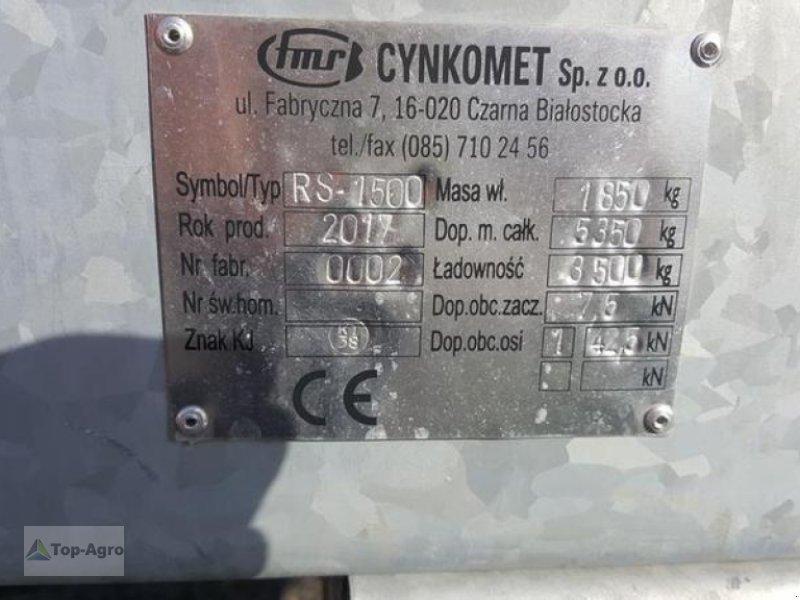 Dungstreuer typu Top Agro Cynkomet RS-1500 3,5Tonen AUSSTELLUNGSEXEMPLAR, Neumaschine w Zgorzelec (Zdjęcie 8)