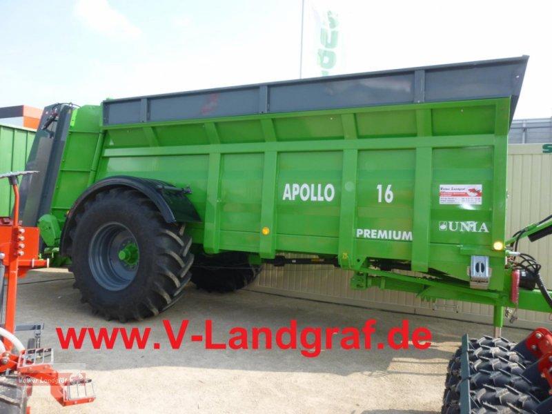 Dungstreuer des Typs Unia Apollo 16 Premium, Neumaschine in Ostheim/Rhön (Bild 1)