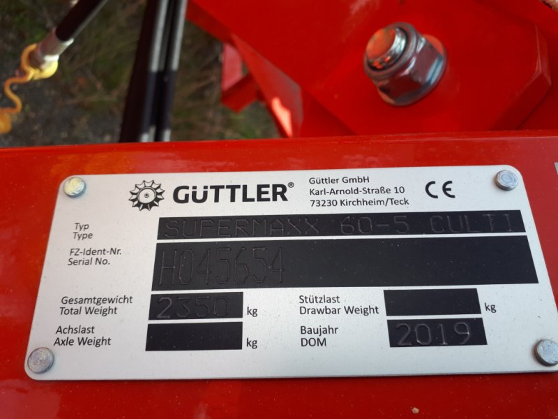 Egge типа Güttler Supermaxx 60, Neumaschine в Delitzsch (Фотография 3)